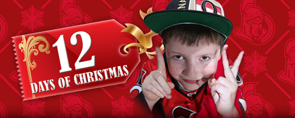 Ottawa Senators - 12 days of christmas