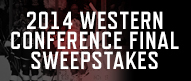 Western Conference Final Sweepstakes